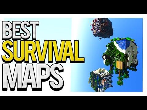 Best Survival Maps (Top 5 Minecraft Survival Maps)