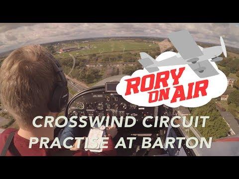 Crosswind Circuit Practise | Manchester Barton | Microlight