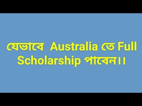 How to get scholarship in Australia