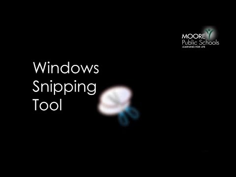 How To - Windows 7 Snipping Tool