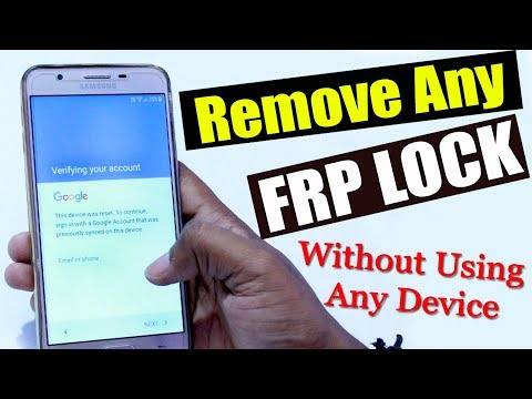 How to Unlock Samsung Smartphone FRP Lock Without Using Any Device | Bypass Google Account | Hindi