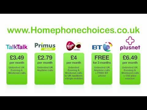 Top 5 Homephone Deals in March    - Get the cheapest landline package