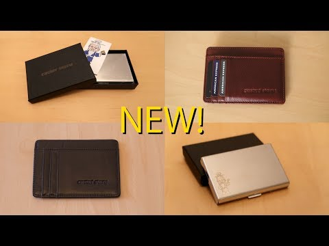 NEW! RFID Blocking Credit Card Case and Wallets On Sale Now!