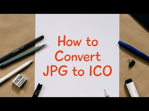 How to Convert JPG to ICO