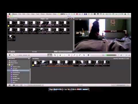 iMovie 11' Slow Motion Effect Demo (HD)