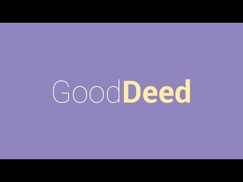 Good Deed: 30 Random Acts of kindness