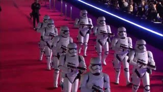 Star Wars - The Force Awakens: Red Carpet Arrivals Part 1