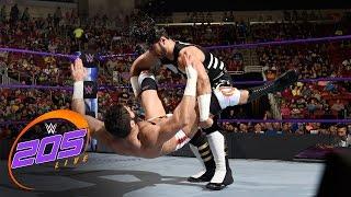 Mustafa Ali vs Ariya Daivari: WWE 205 Live, April 18, 2017
