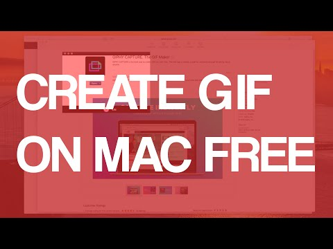 How To Make GIF On Mac OS X Free