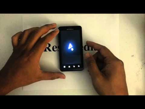 How to Factory Restore Hard Reset or Password Wipe the Motorola Droid Bionic 4G LTE Verizon