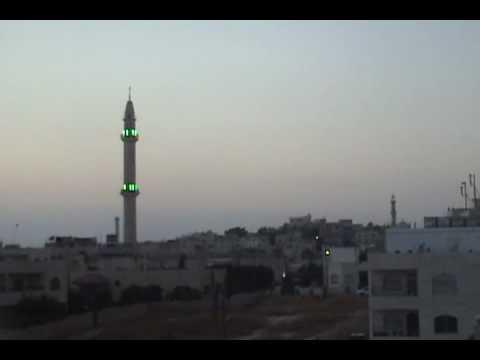 Adhan in Amman, Jordan - الاذان في عمان، الأردن