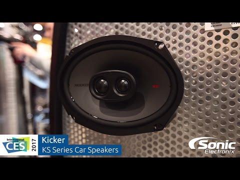 Kicker KS Series Car Audio Speakers   CES 2017