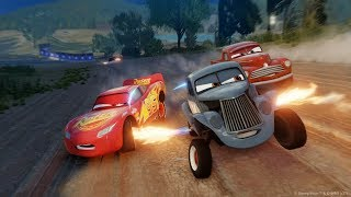 Disney Pixar Cars 3 Driven To Win Doc & Smokey are Fast Training Lightning McQueen