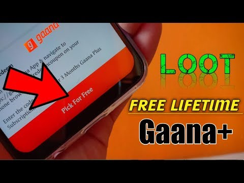 Download Gaana Plus LifeTime FREE😱😱 Subscription | How to