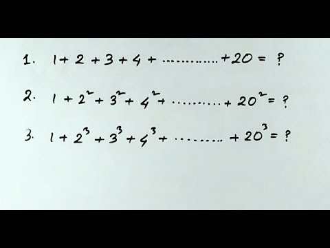 Maths short tricks | Sum of natural numbers