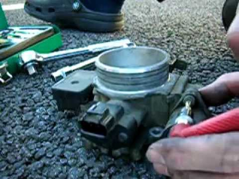 Idle Air Control Motor Cleaning For Wrangler