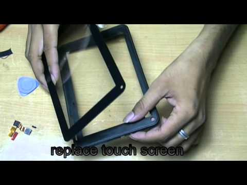 How to change touch screen in Micromax Funbook tab