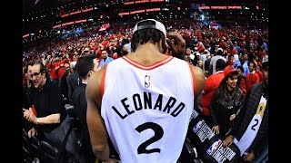 Kawhi Leonard's Two-Year Journey from San Antonio Injury to 2019 NBA Finals | Warriors-Raptors