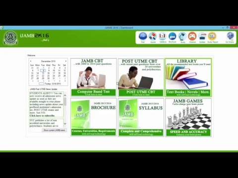JAMB CBT practice software with post UTME from 21 universities & Poly