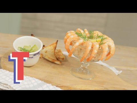 Potted Salmon Rillette With Pickled Cucumber | Feed My Friends 3