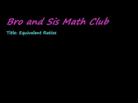 What are Equivalent Ratios and How to Prove If Ratios are Equivalent - 7th Grade Math