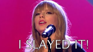"TOP 7 Singers ""I SLAYED IT"" Face (VOCAL SLAYAGE)"