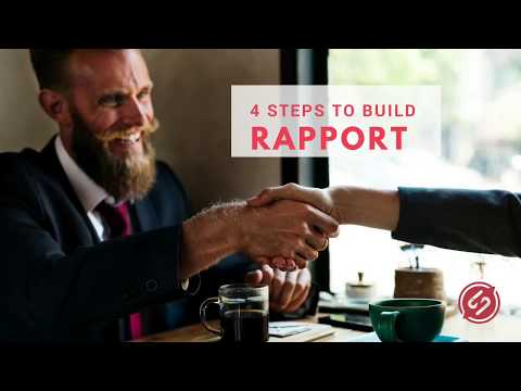 4 Steps To Build Rapport & Increase Sales