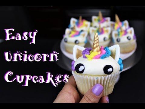 Easy Unicorn Cupcakes | CHELSWEETS