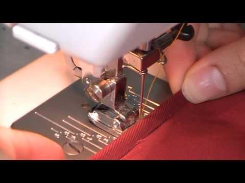 Sewing Basics #1: How to finish up raw edges