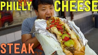 BEST CHEESESTEAK Sandwich in Philadelphia! Philly Cheesesteak Tour