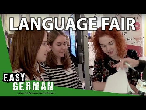 At the Language Learning Fair | Easy German 63
