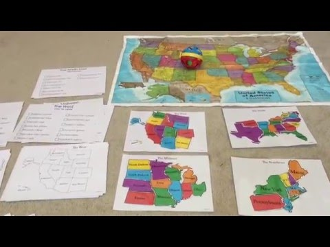 How to Teach Children U.S States and Capitals in a Fun way!