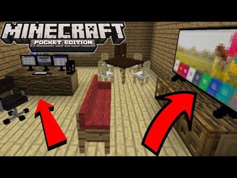 New Furniture In Minecraft PE 1.2.16+