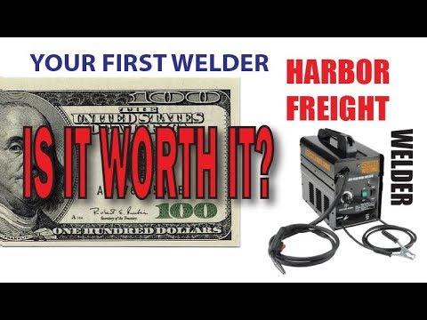 Harbor Freight Welder worth it for a 100 bucks?