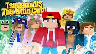 Minecraft Adventure - TSUNAMI vs THE LITTLE CLUB!!