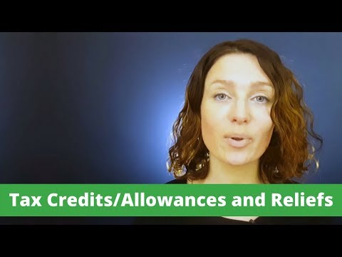 Irish PAYE Guide. Tax Credits/allowances and Reliefs.