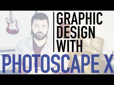 Easy And Free Graphic Design [Simple Graphics And Thumbnails With Photoscape X]