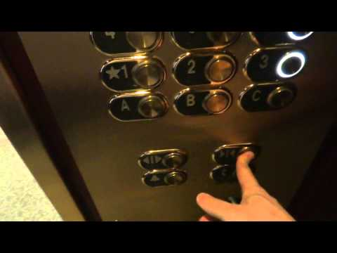 Otis (Schindler Mod) Traction Elevators @ Intercontinental Hotel Kansas City MO