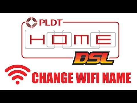 How to Change PLDT Home DSL WiFi Name/SSID