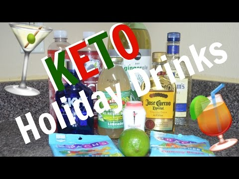 Keto Holiday Drinks (Alcoholic) | Ketogenic Diet | Keto Recipes | Low carb diet