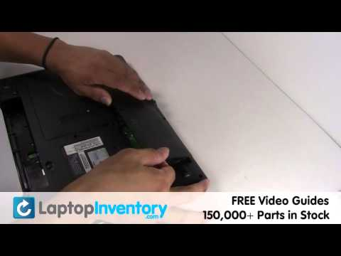 Gateway Hard Drive Replacement   Sata Drive Laptop Notebook Install Guide, Replace