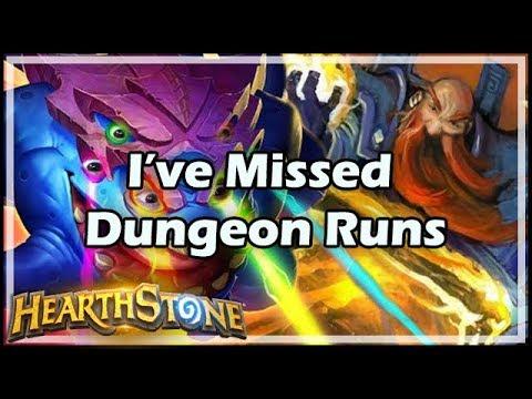 [Hearthstone] I've Missed Dungeon Runs