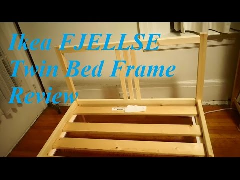 Review: Ikea FJELLSE Twin Bed Frame