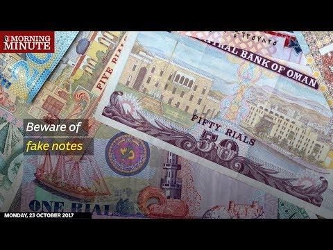 Beware of fake notes