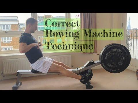 Correct Rowing Machine Technique