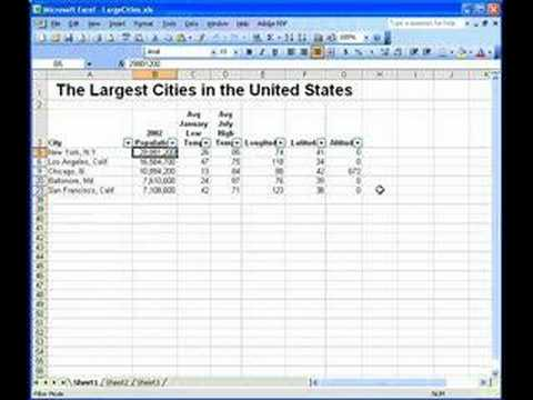 Recording Macros - Excel 2003