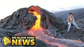 Kilauea Volcano Rift Zone Eruption Update (Jan. 26, 2018)