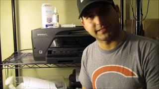 hp officejet pro 6830 printer head Cleaning