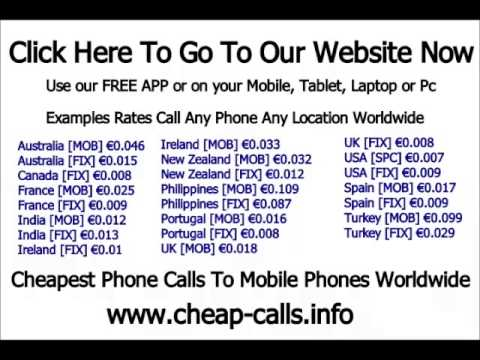 cheap phone calls to new zealand mobile phones