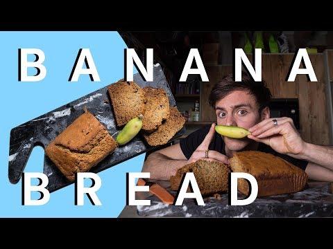 Healthy Banana Bread ft. *Micro Banana* I Tom Daley